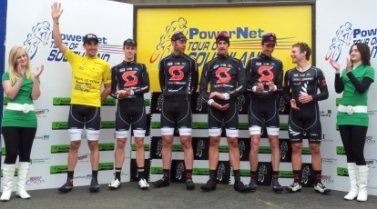 Hayden Roulston claims the first Yellow jersey of the 2011 PowerNet Tour